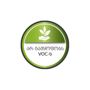 Free VOC. Ecological product